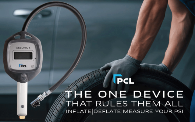 PCL Accura 1 Tire Gauge- For the Long Haul