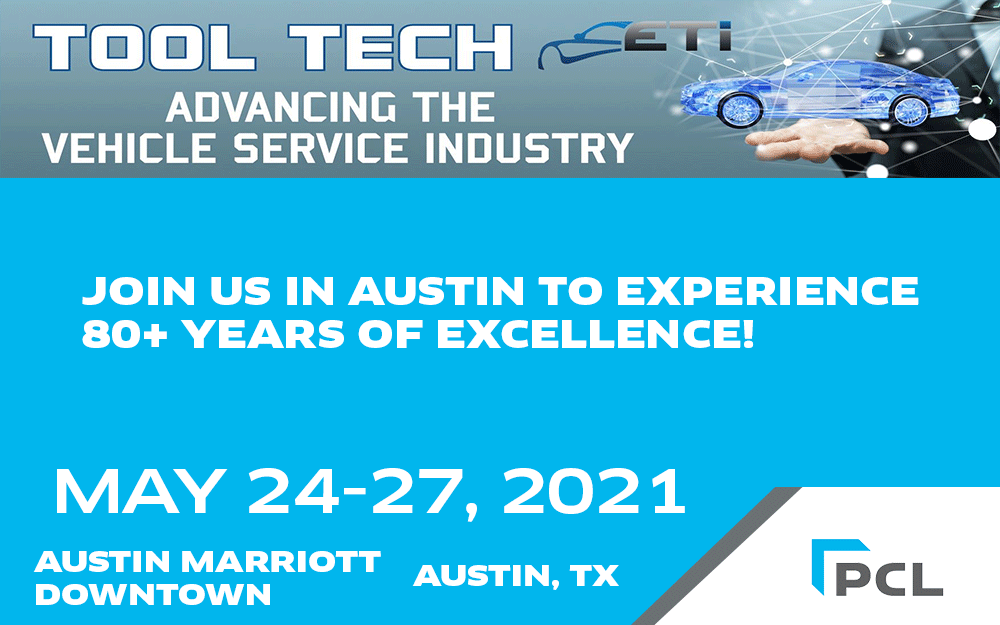 Reminder: PCL will be at the ETI Tool Tech Conference next week!