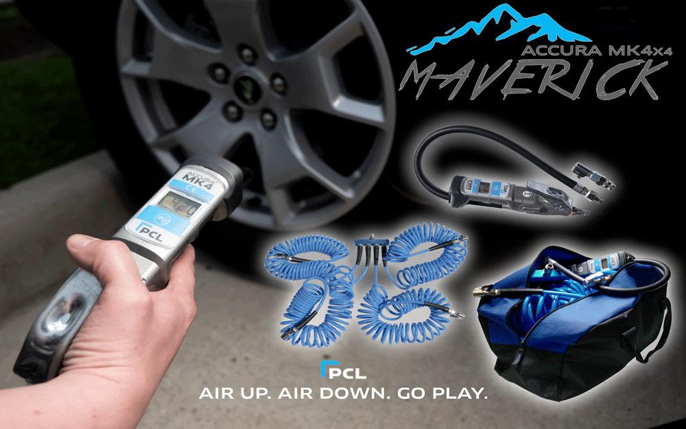 PCL's Maverick Tire Inflator Gauge Kit