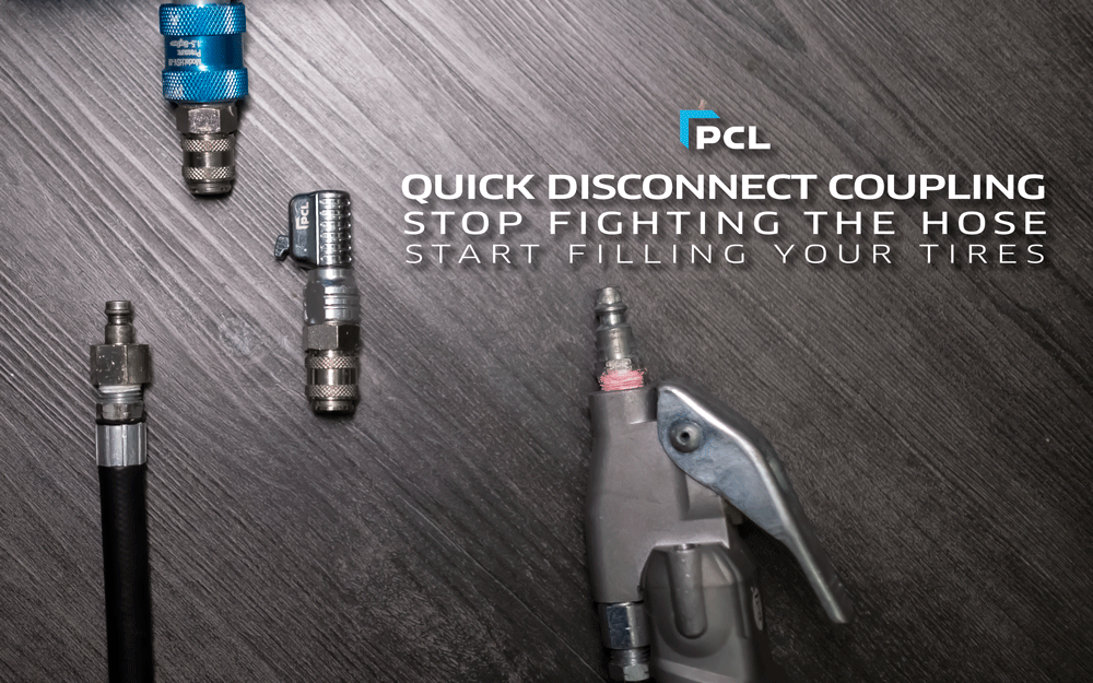 PCL's Quick Disconnect Hose Coupling - Get the Job Done Faster