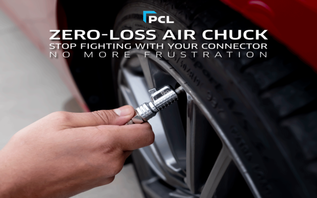 PCL Tire Inflation Gauges - Made Better with the Zero-Loss Air Chuck