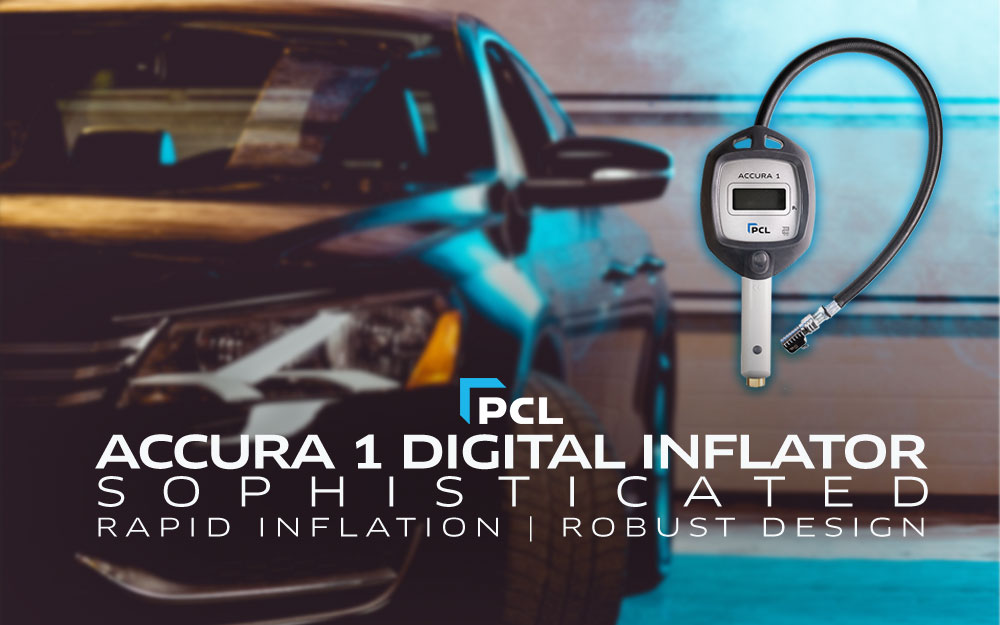 PCL's Digital Tire Inflator and Pressure Gauge