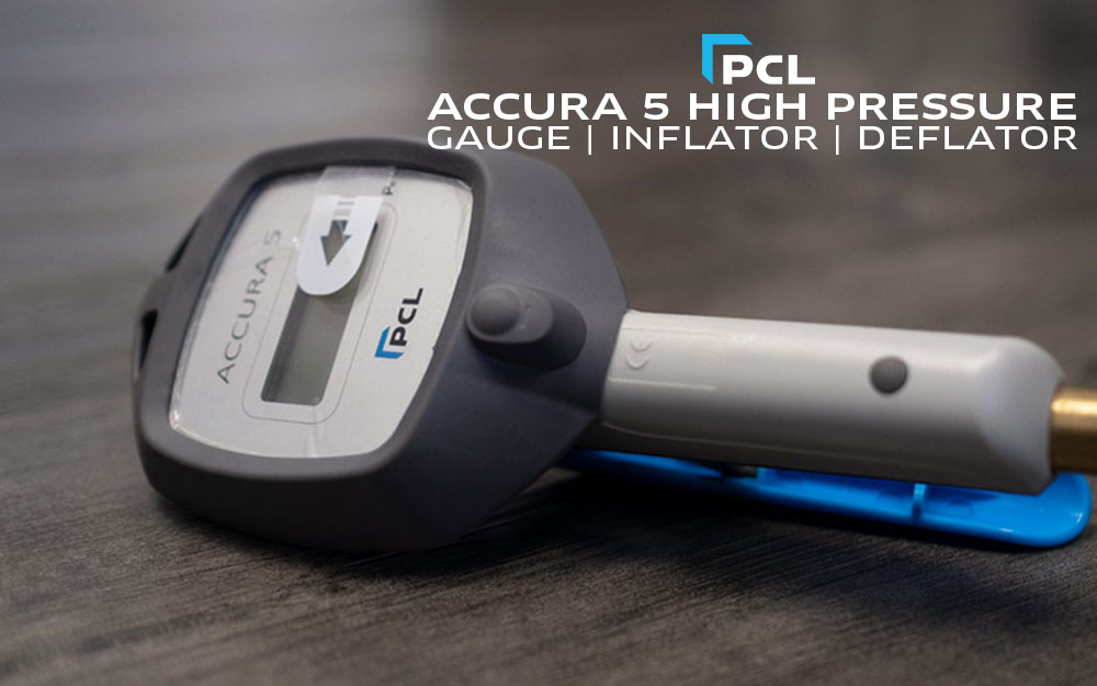 PCL's High Pressure Tire Inflator Gauge