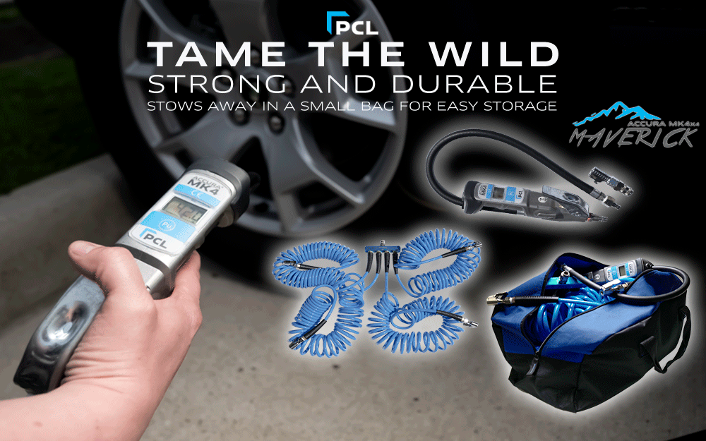 PCL's Tire Pressure Gauges and Inflators