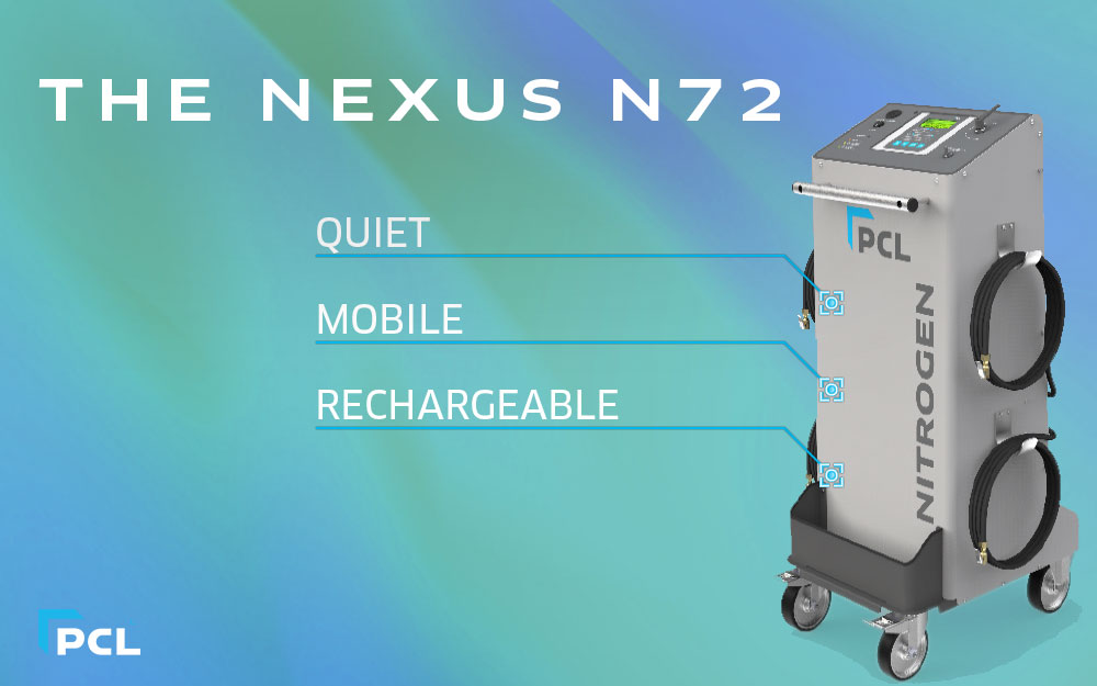 PCL's Portable Nitrogen Generator and Inflator - The NEXUS N72