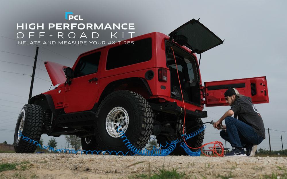 PCL's Tire Inflation Kit - The Maverick 4x4