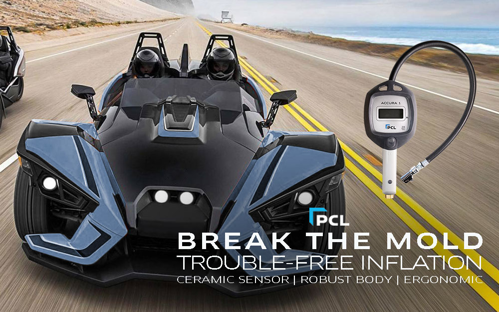 PCL's Best Handheld Inflator for Roadsters
