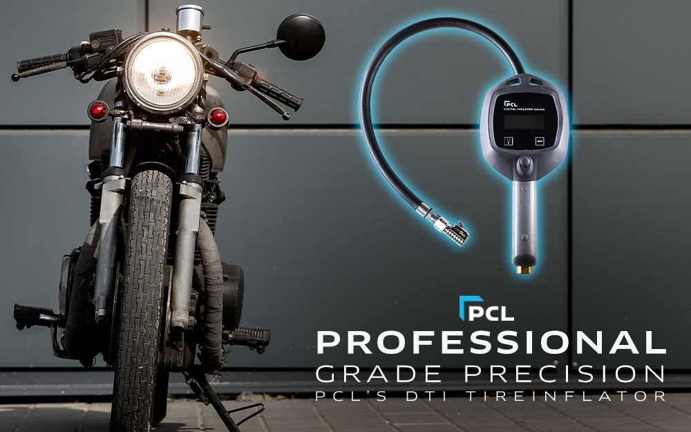PCL's Best Tire Inflation Gauge for Your Honda Motorcycle