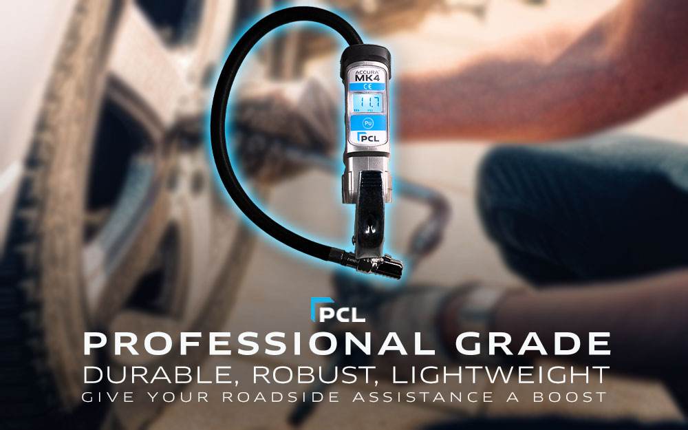 PCL's Best Tire Inflation Gauge for Service Professionals