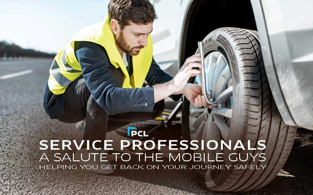 mobile tire service professionals