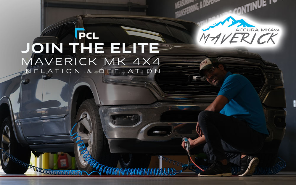PCL's Maverick MK4x4 Off Road Tire Inflation System