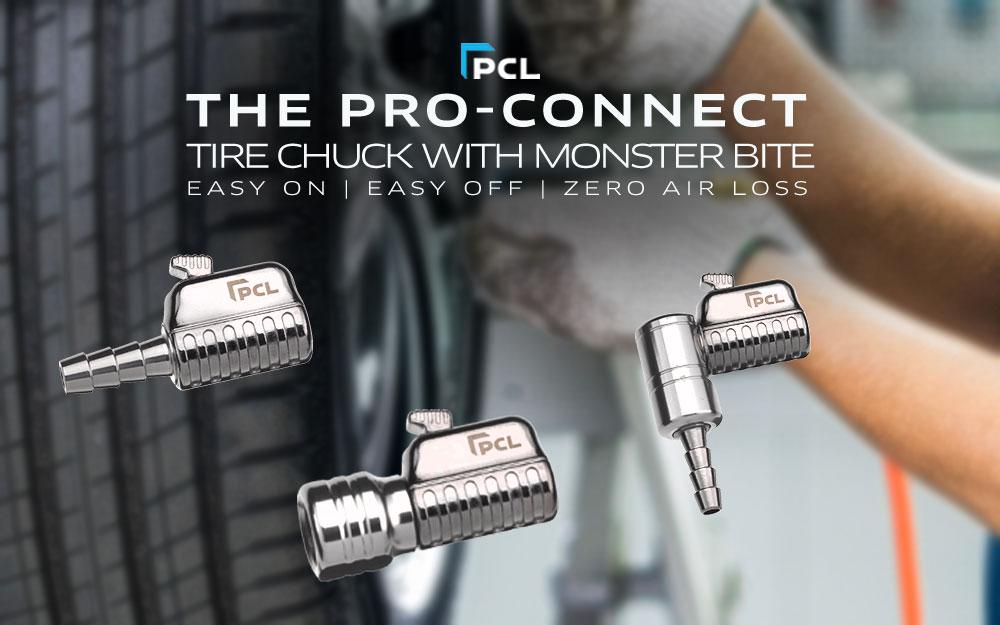 PCL's PRO-CONNECT Tire Chuck