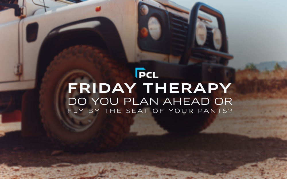 PCL's Friday Therapy