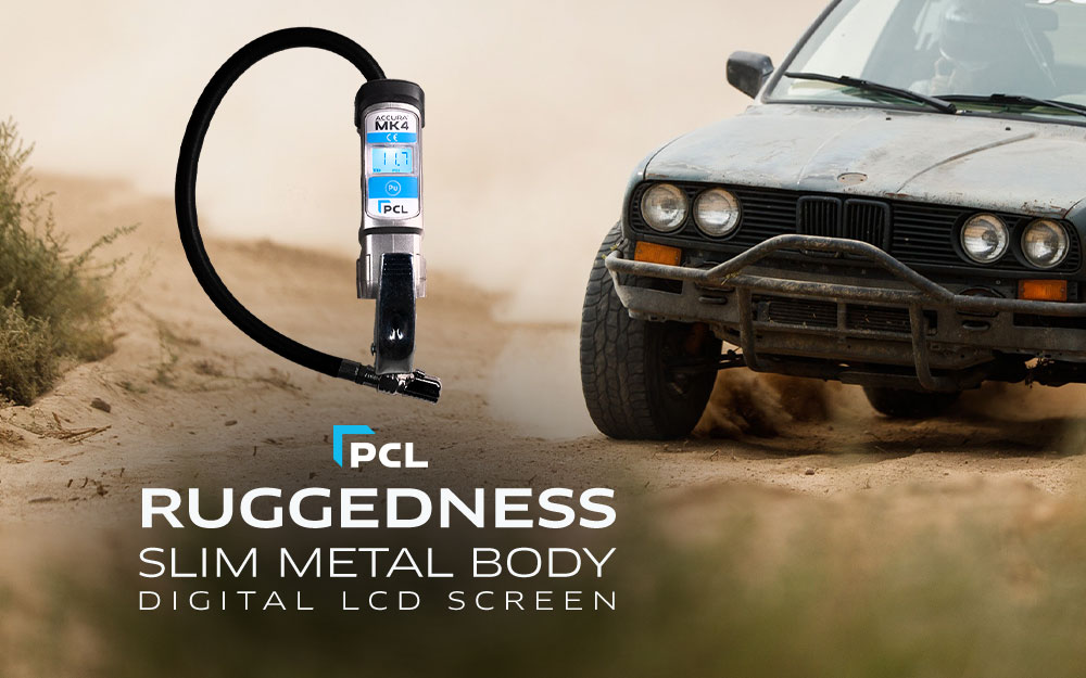 PCL's Tire Inflator With Gauge