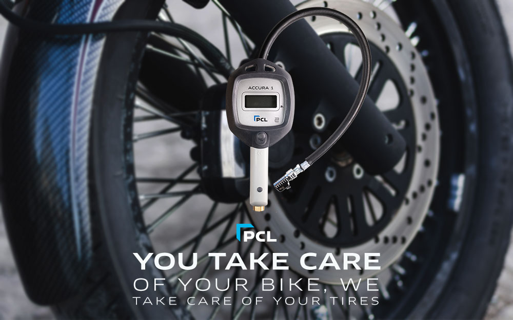 PCL's Accura 1 - The Best Motorcycle Tire Pressure Gauge